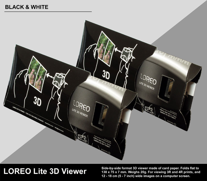 LOREO Lite 3D Viewer - Folded Flat in Case