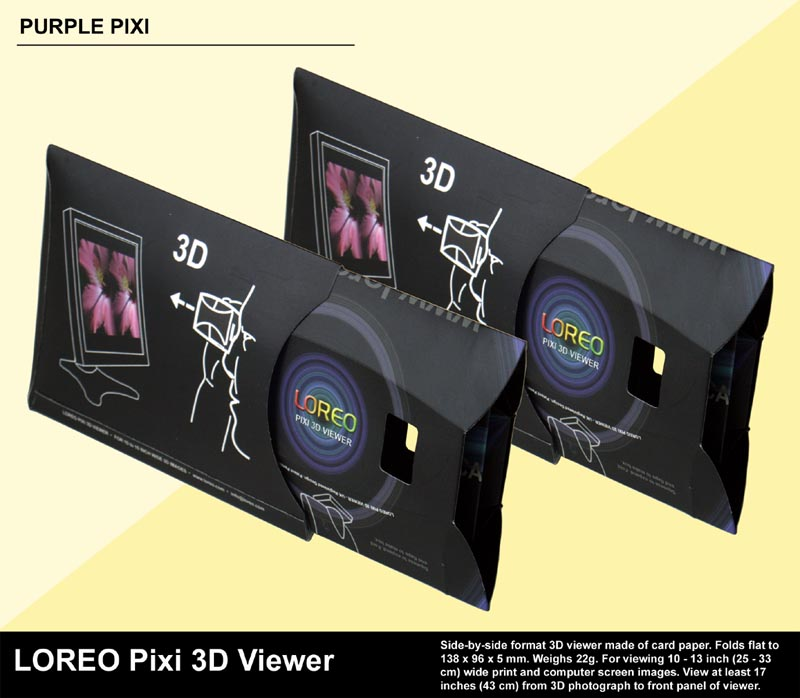 LOREO Pixi 3D Viewer - Folded Flat in Case