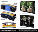 LOREO Lite 3D Viewer - Product Composite - Fun Colours