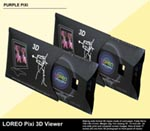 LOREO Pixi 3D Viewer - Purple Pixi - Folded Flat in Case - Purple Pixi